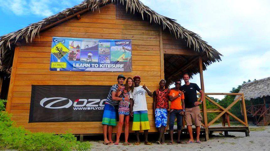 Kitesurf à Madagascar - Kite Alize - Baie des Sakalava - Diego Suarez