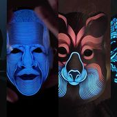 The Sound Reactive LED Mask
