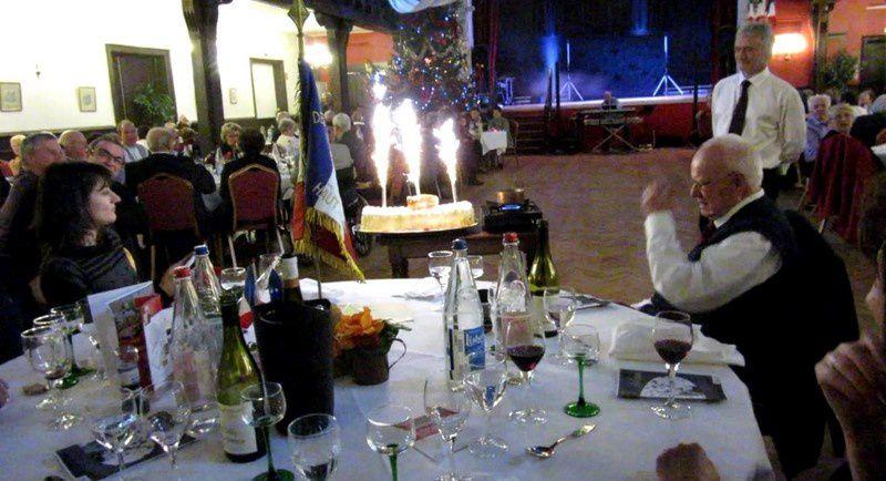 Sainte Barbe 2014 avec les Anciens du Génie du Haut-Rhin