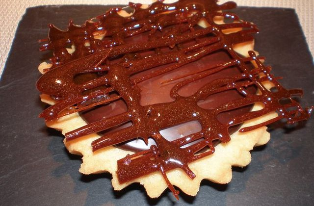 Tarte extrêmement chocolat