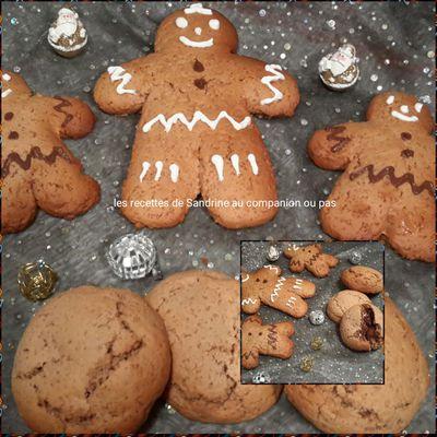 Biscuits au pain d'épices polonais ou Pierniczki de noël (au companion ou autres robots)