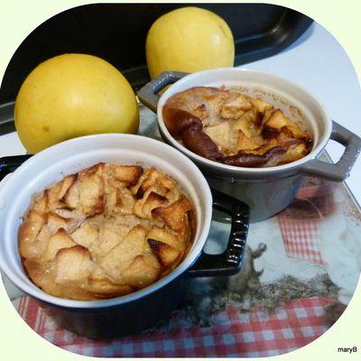 Clafoutis renversé, Carambars, pommes toussa, toussa !