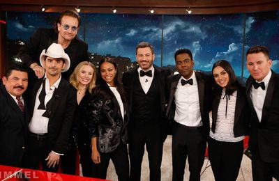 Bono -Kimmel (RED) Show -El Capitan Entertainment Centre Theater - California -19/11/2018