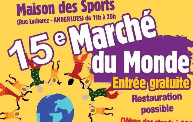 Marché du Monde Anderlues 2019 (N°1)  Le 1er spectacle de l'année pour Duende de Flamenco