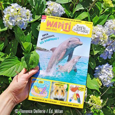 Mon nouveau coloriage d'été dans Wapiti Hors-Série Défis Nature