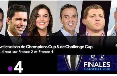 [Rugby] La Champions Cup et la Challenge Cup à suivre sur France TV !