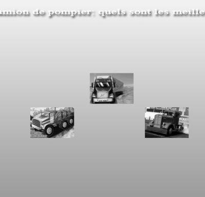 Jeux de camion de pompier : quels sont les meilleurs jeux ?