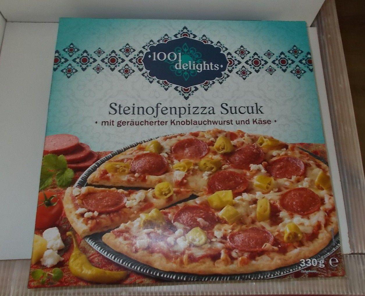 Lidl 1001 Delights Steinofenpizza Sucuk