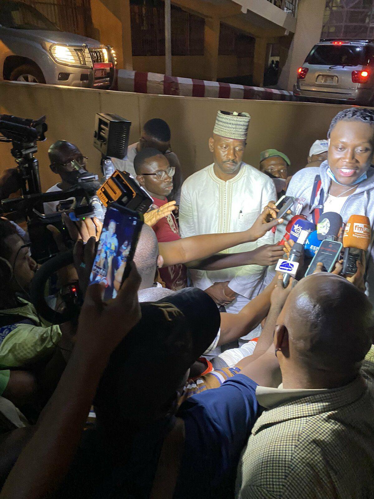 Sekou Doumbouya : «C'est pour moi aussi un moyen de rendre la pareille à mon pays»