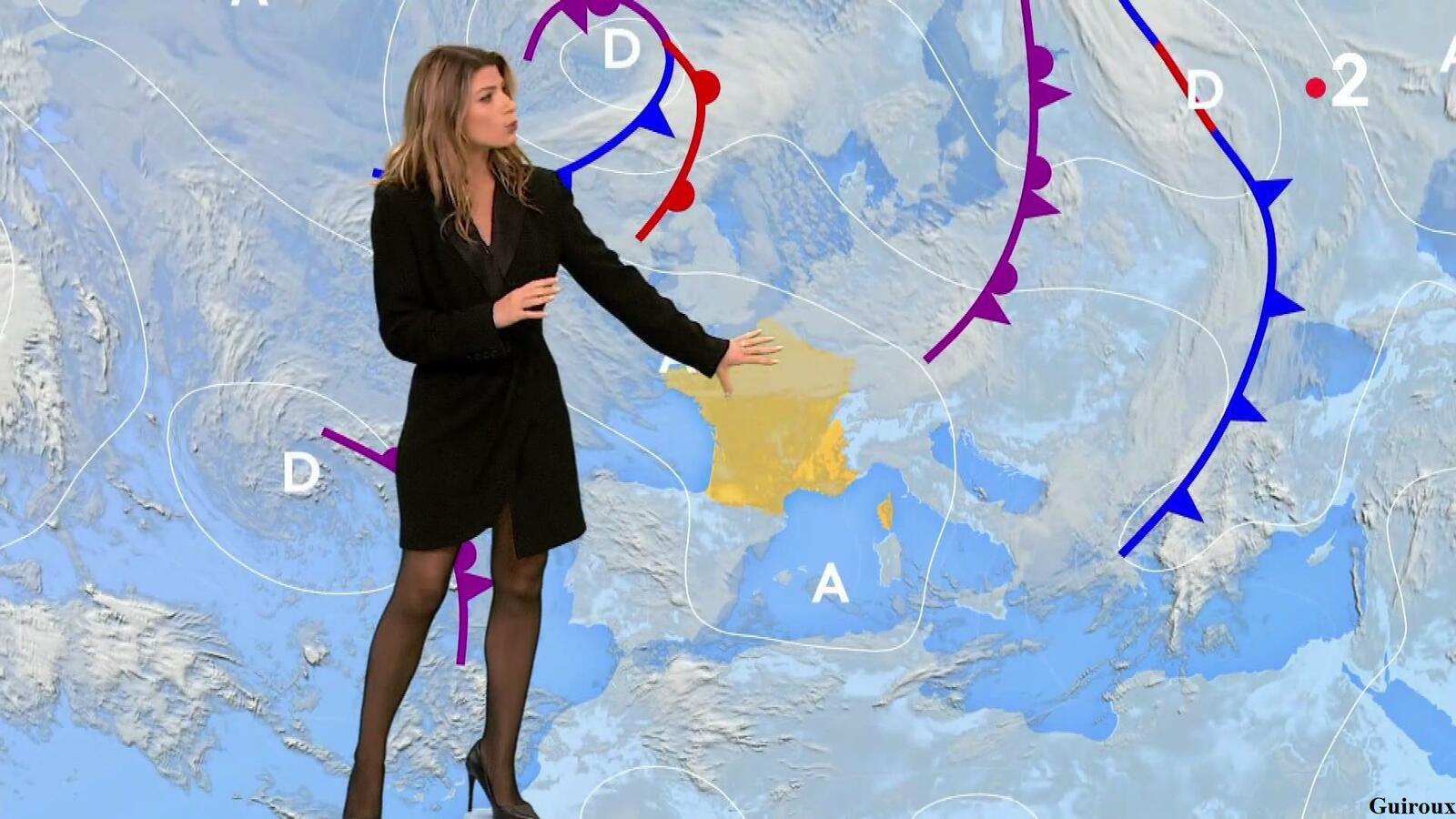 Chloé Nabédian 08/04/2021 Journaux météo du midi