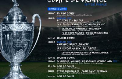 Lyon / Sochaux (Coupe de France) Sur quelle chaîne suivre la rencontre samedi ?