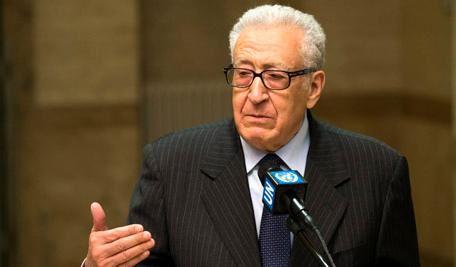 La Russie se déclare prête à étudier les initiatives de Brahimi