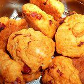 Tour en Cuisine n° 33 - Cookies poivrons chorizo