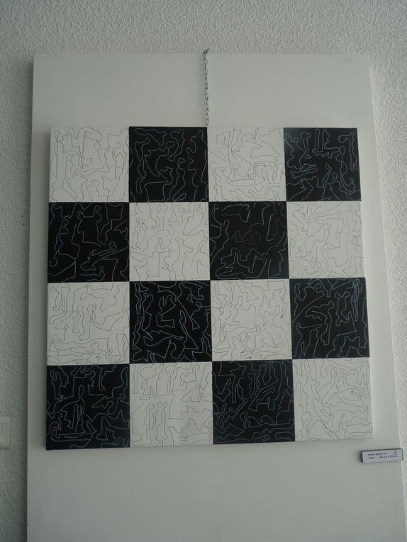 En 1990 Daniel Faure décidait de ne s'exprimer en noir et blanc. Il poursuit son exploration avec cette nouvelle exposition
