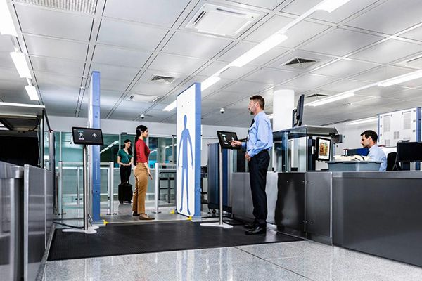 R&S QPS201 security scanner from Rohde & Schwarz