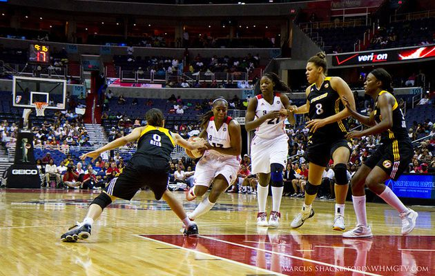 WNBA: Washington Mystics se réveille face à Tulsa Shock