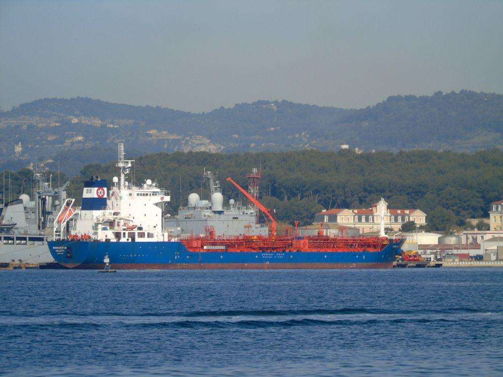 SHANNON STAR , a quai dans la base navale de Toulon le 31 mars 2017
