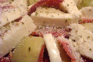 Pizza artichaut fromage