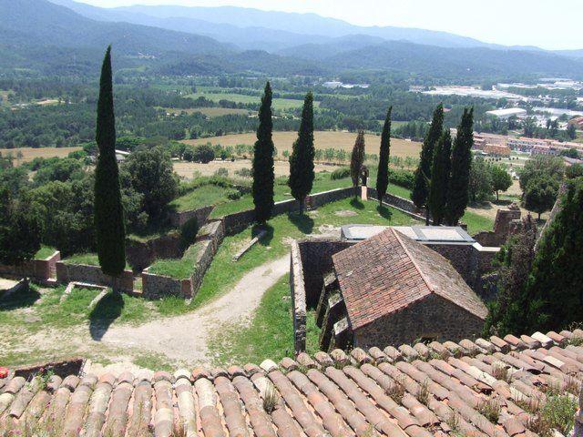 Diaporama château et bourg fortifié d'Hostalric