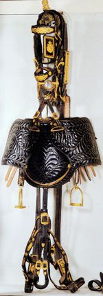Harnais rares conservés au musée des carrosses du Quirinal