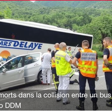 Barrême , Accident de bus en Ariège