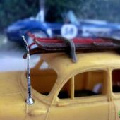 PANHARD DYNA Z 1955 AVEC SKIS NOREV 1/43 - car-collector.net