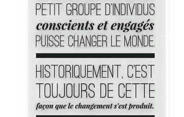 Selon Margaret Mead, vous, les 1000 premiers Engagés, pouvez être ceux qui vont changer la Tunisie