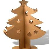 Tutoriel : Comment faire un sapin de noël en carton - Le blog de Miss Kawaii