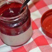 Pannacotta fraises au cookeo - Recettes faciles Rapides au Cookeo et autres robots ou sans
