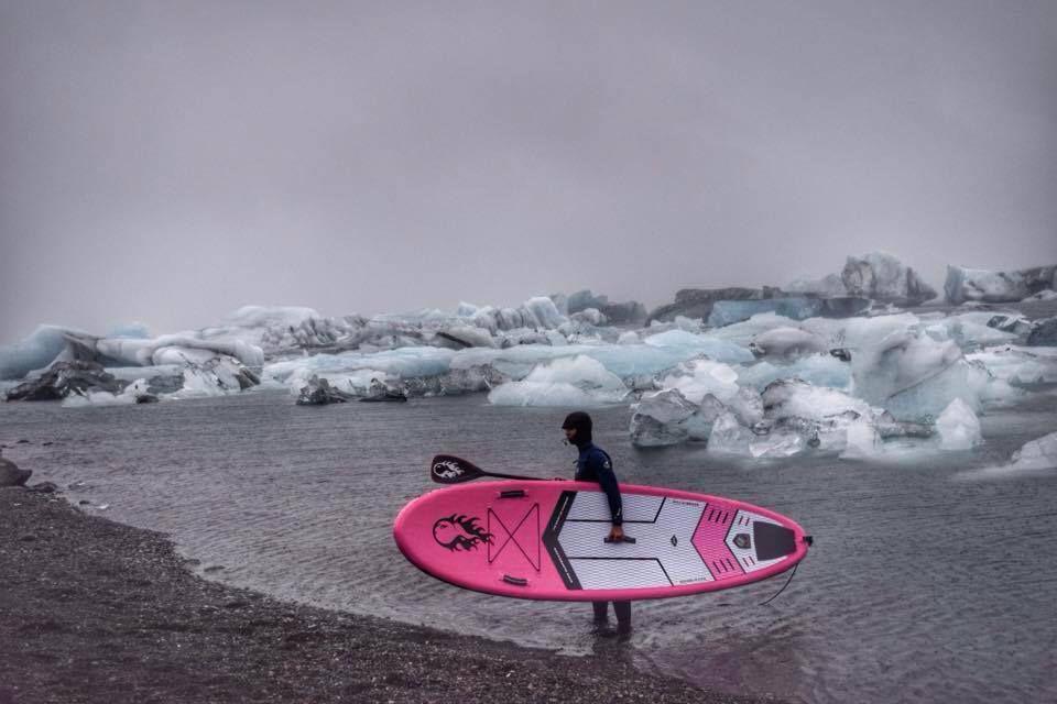 Le sup trip au Groenland d'Ingrid Ulrich