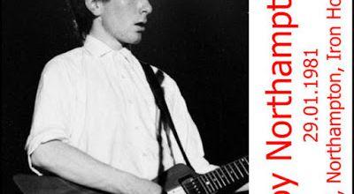 U2 -Boy Tour -29/01/1981 -Northampton -Angleterre -Iron Horse