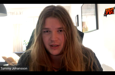 VIDEO - Interview (VO) avec Tommy Johansson pour le nouvel album de MAJESTICA