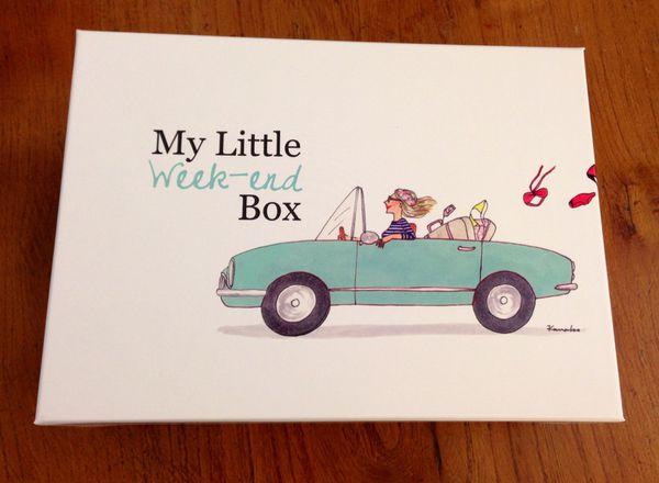 My Little Week End Box ! (Spoiler)