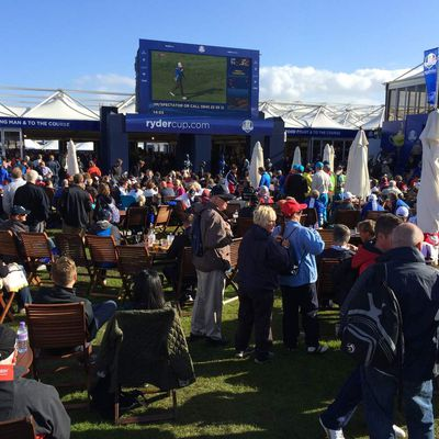 Ambiance de Ryder Cup