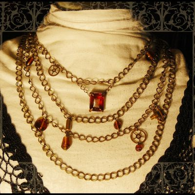 collier bronze steampunk