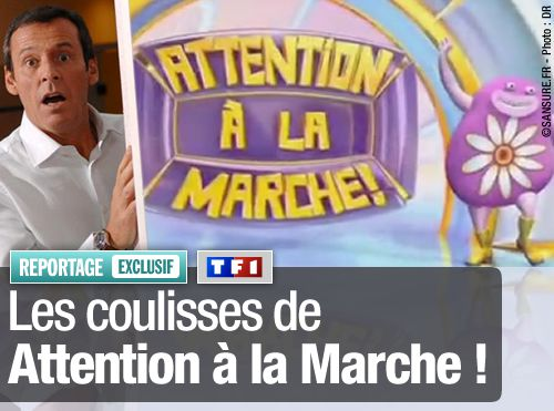 EXCLUSIF / Les coulisses de Attention à la Marche !