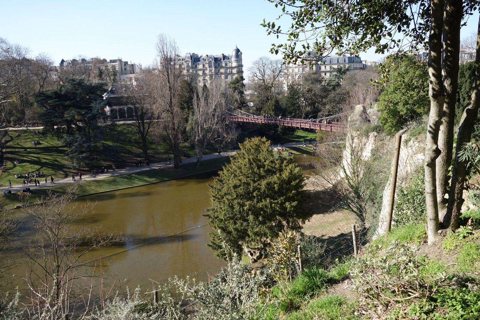 BALADE AUX BUTTES-CHAUMONT A PARIS (27/02/2021)