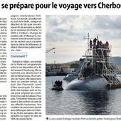 Le sous-marin Perle attendu à Cherbourg à partir de la mi-décembre