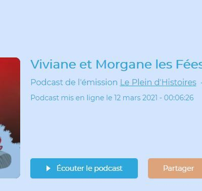 Podcast : Viviane et Morgane