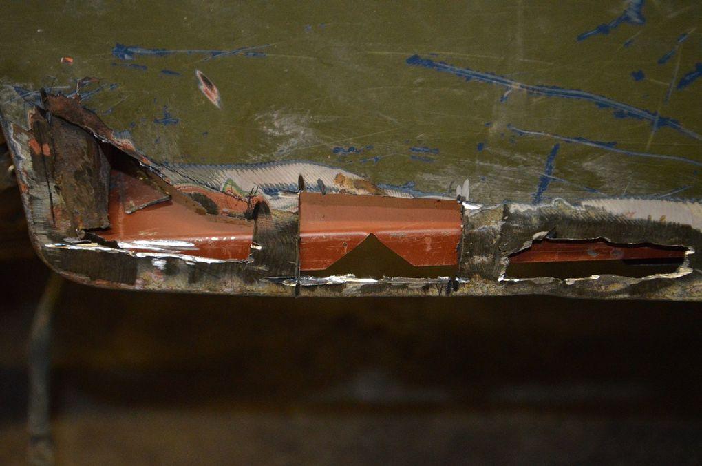 crédit photos : Alain Chaussade - réfection bas de caisse et plancher willys