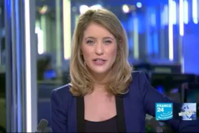 2012 03 04 @19H32 - PAULINE PACCARD, FRANCE 24, LE JOURNAL