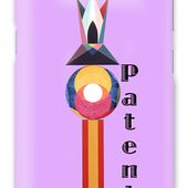 Patent Text Galaxy Case for Sale by Michael Bellon
