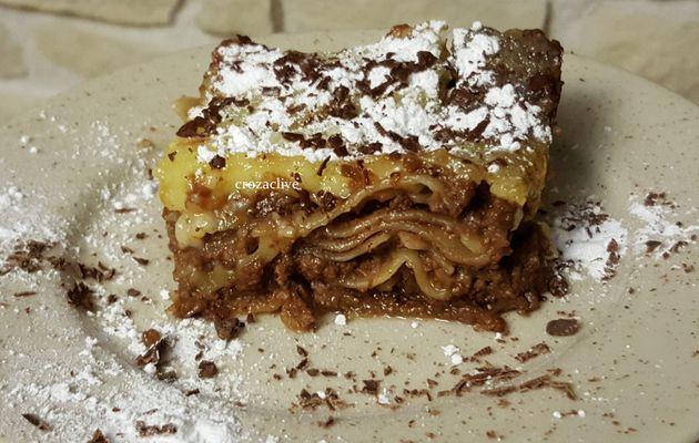 Lasagnes au Chocolat