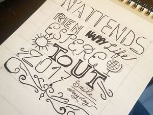 Initiation au hand lettering