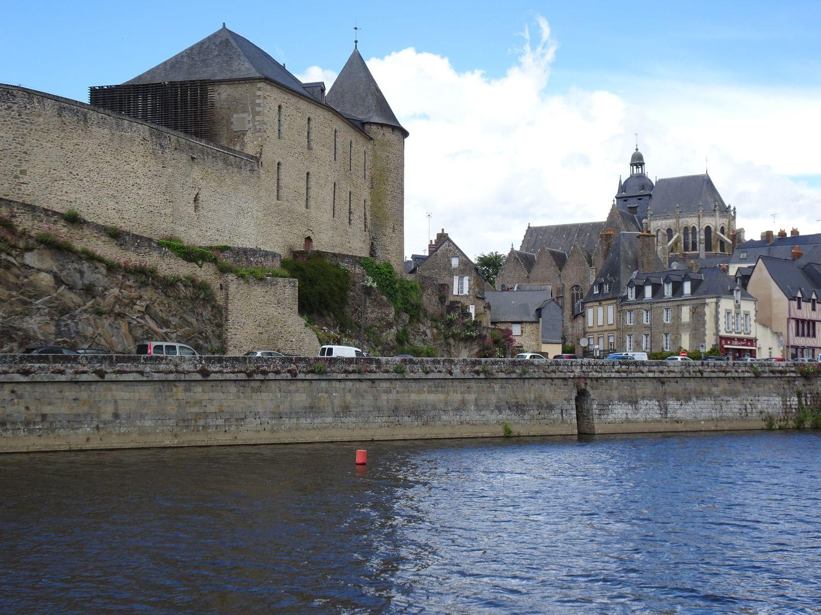 Au fil de la Mayenne - Etape 3 - Ambrières-les-Vallées / Moulay - 43,2 km - A.R
