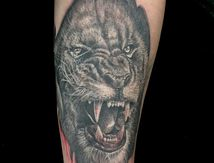 tatouage Lion