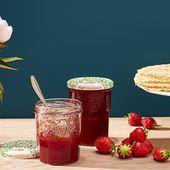 Recette Confiture de fraises - Le Parfait