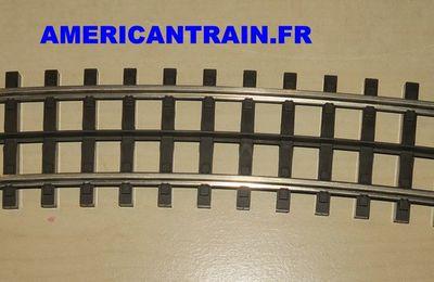 Rail courbe O-72 ScaleTrax 45-1010 échelle O MTH