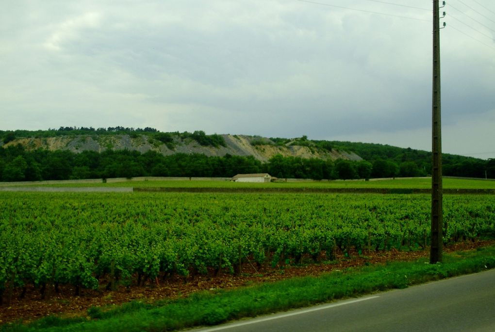 DIAPORAMA 09 PHOTOS - ON ROULE SUR LA ROUTE DES GRANDS CRUS -