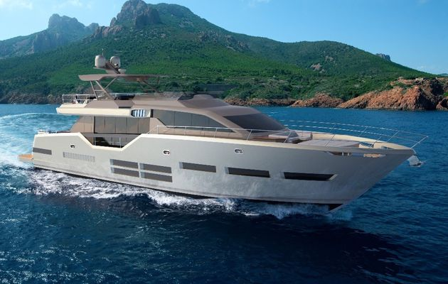 20 new yacht models in 5 lines over the next 18 months, for the French shipyard Couach